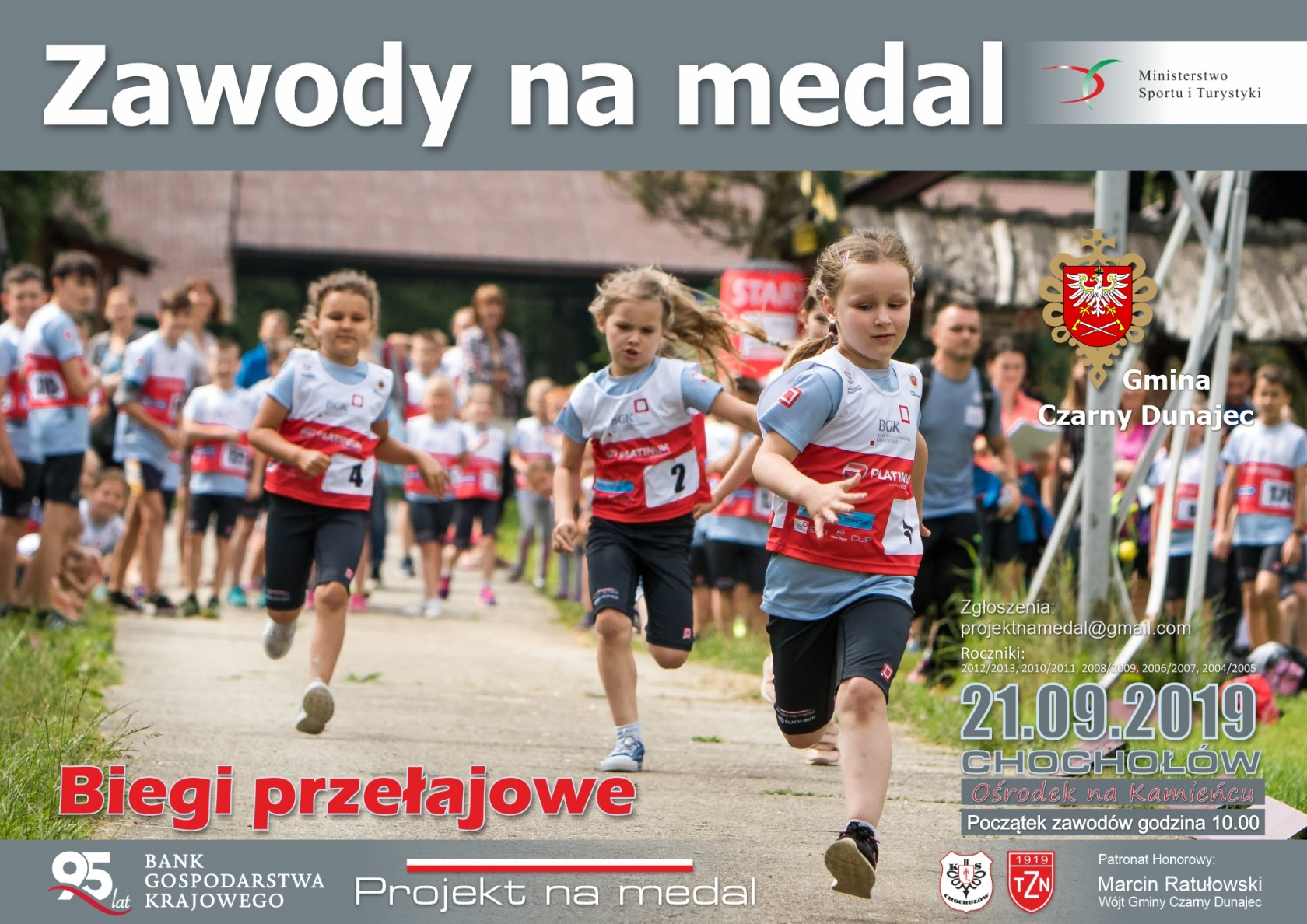 Zawody na medal - Biegi przełajowe - ZAPROSZENIE + Regulamin